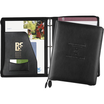 Exec-U-Line Zippered Ring Binder